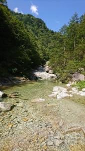 下部の河原