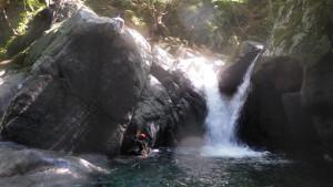 最初の5m滝