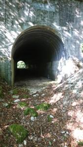 林道トンネル
