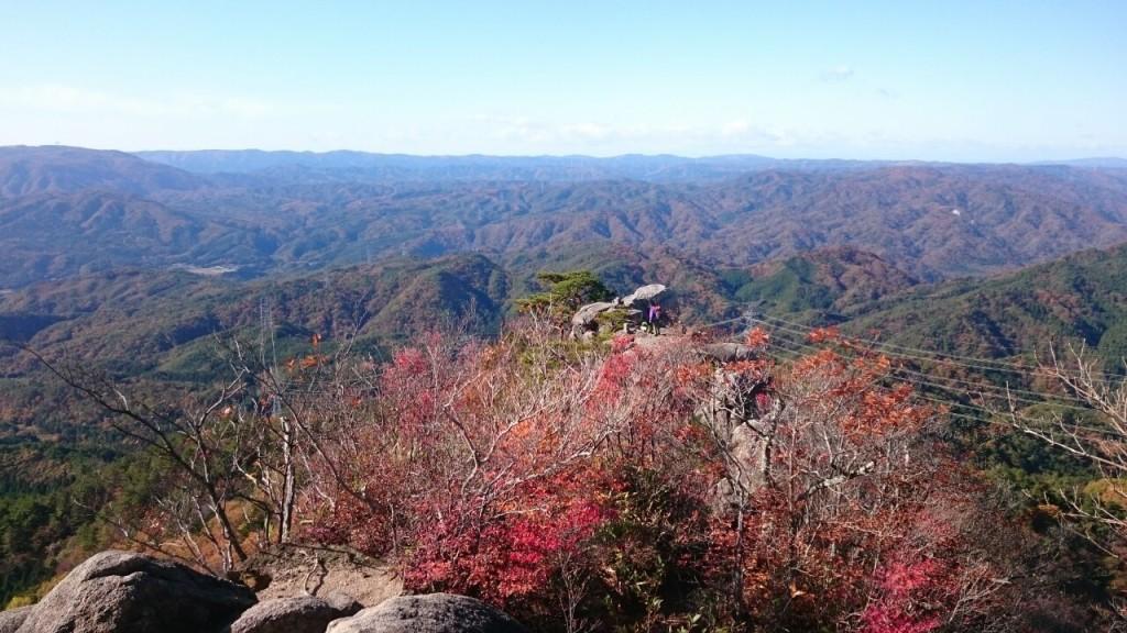 女体山からの眺望