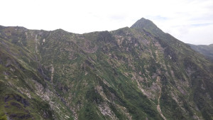 芝倉沢と武能岳