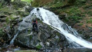 階段状の滝