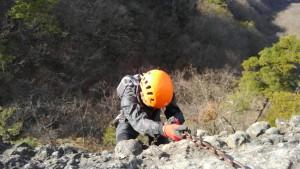 丁須ノ頭に登る