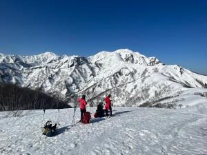 道行山からの越後駒ヶ岳