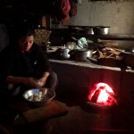 民家 窯のキッチン