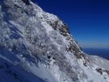 赤岳東稜第二岩峰 岩と雪のミックスのルートを登った
