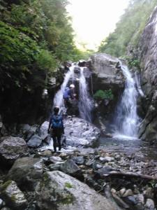4条6m滝を左から登る